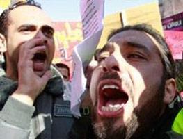 Ürdün'de hayat pahalılığına karşı eylem