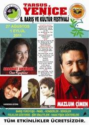 Yenice 8. Barış ve Kültür Festivali başladı