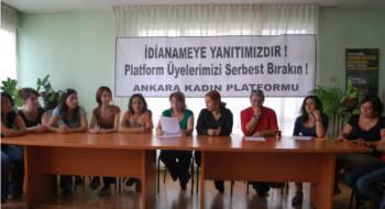 Ankara Kadın Platformu: Arkadaşlarımızı serbest bırakın!