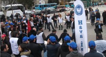 """THY işçileri meydanlardan haykırıyor: """"Atılan işçiler geri alınsın"""""""