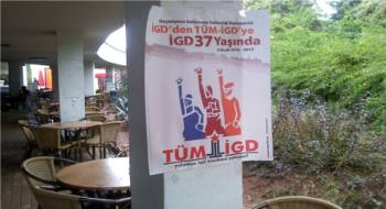 Mersin Üniversitesi'nde İlerici Gençler 37.yıl etkinlik çalışmasına başladı