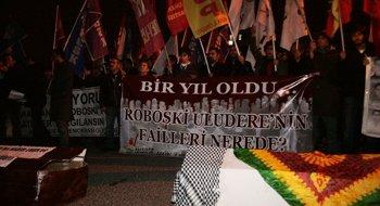Roboski Katliamı Ankara' da protesto edildi