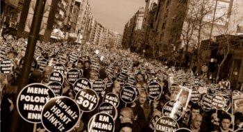 Katledilişinin 6. yılında, Hrant için, adalet için Agos önündeyiz!