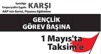 İlerici Gençlik, 1 Mayıs'ta Beşiktaş'tan Taksim'e yürüyor