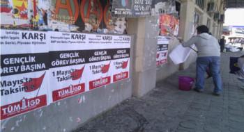 İlerici Gençler, Kadıköy'de 1 Mayıs çağrısını yükseltti