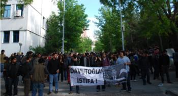 Ankara'da öğrenci gençliğin Reyhanlı protestosuna polis terörü