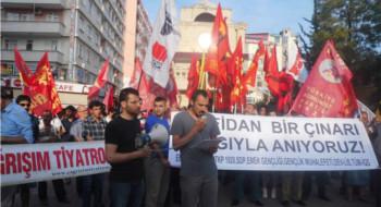 Tarsus'da gençler haykırdı: Denizler katledilişlerinin 41. yılında aramızda!